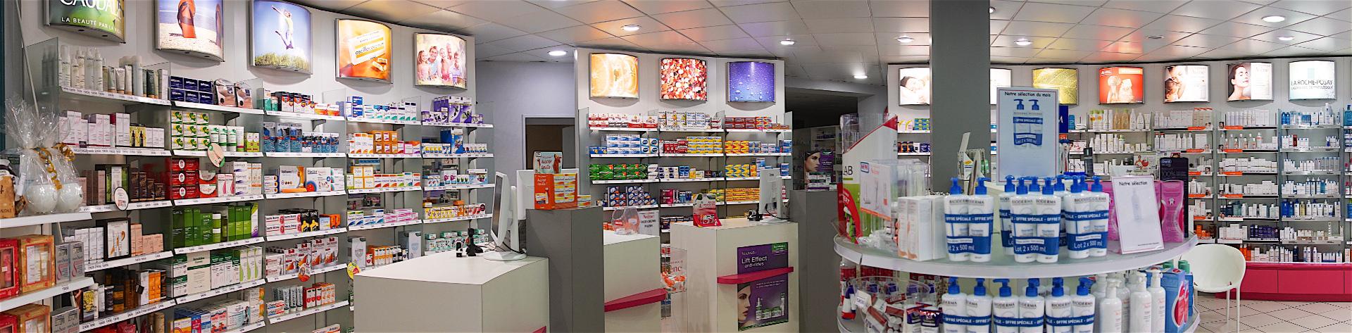 Pharmacie Pasquier intérieur