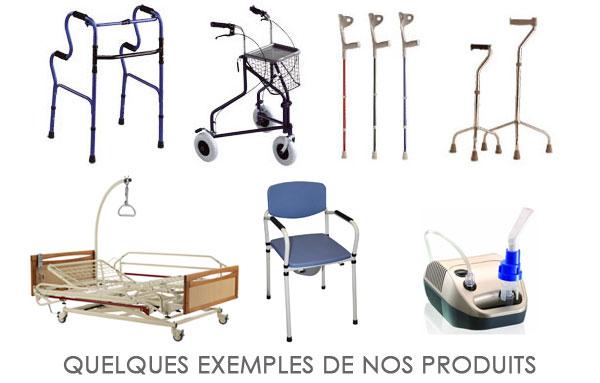 Produits de matériel médical