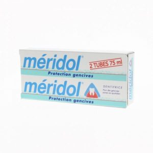 dentifrice Méridol protection gencives