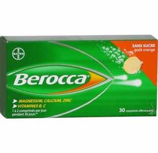 berocca-sans-sucre-30-comprimes-effervescents-Pasqquier