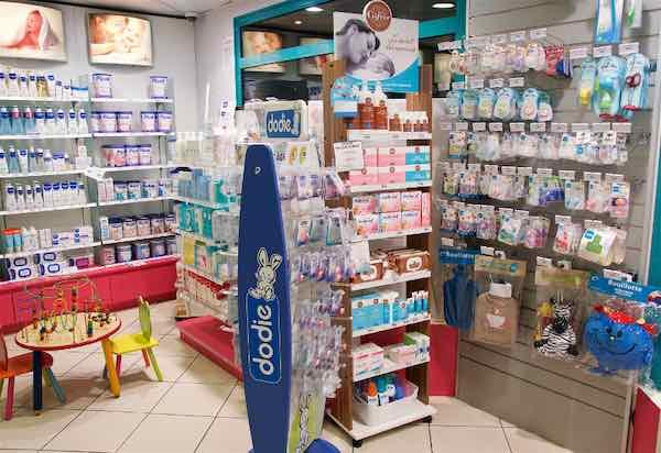 Pharmacie Wambrechies Pasquier espace bébés jeunes mamans