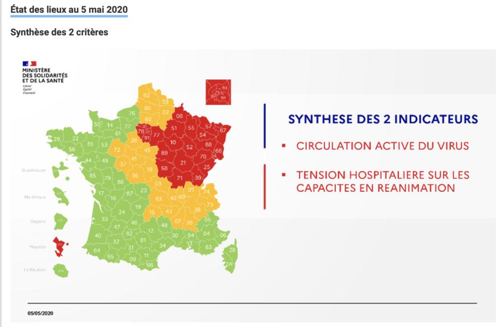 Hauts de France Corovavirus Orange déconfinement