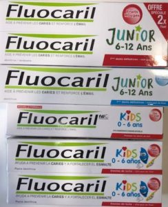 Fluocaril Kids Junior -1euro